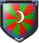Djek London's shield