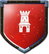 Hrabia Zibi's shield