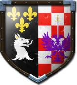 Alexx Black's shield