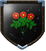 Rose Desert's shield